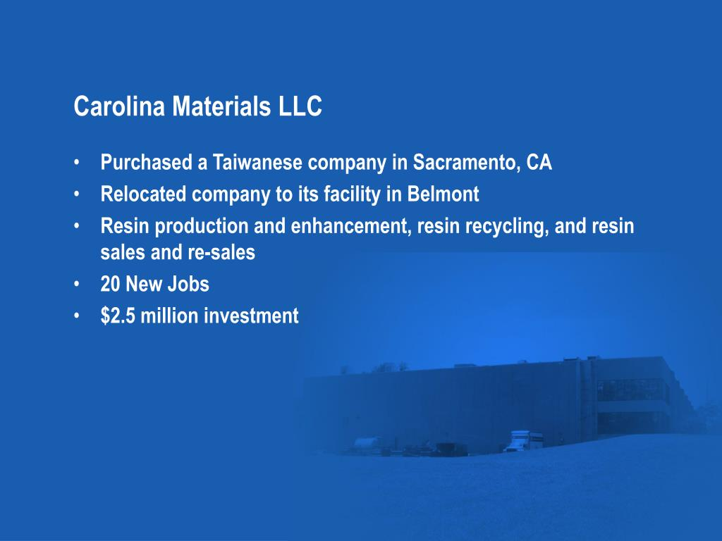 Carolina Materials LLC