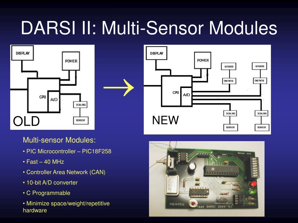 DARSI II: Multi-Sensor Modules