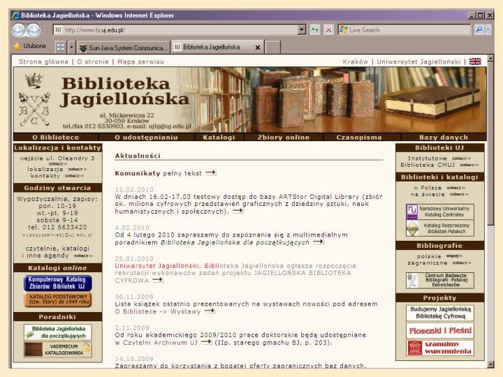 Biblioteka Jagiellońska dla początkujących: poradnik