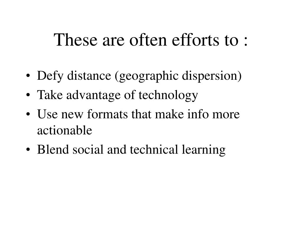These are often efforts to :