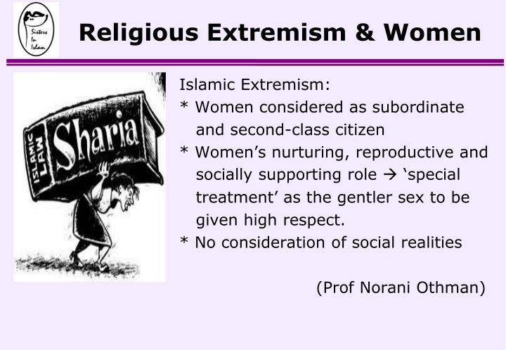 Religious Extremism & Women