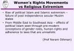 women s rights movements vs religious extremism3