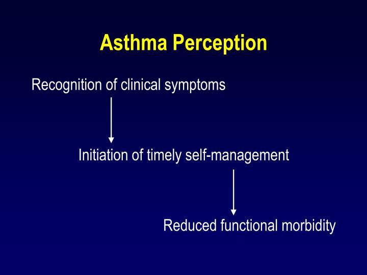 Asthma Perception