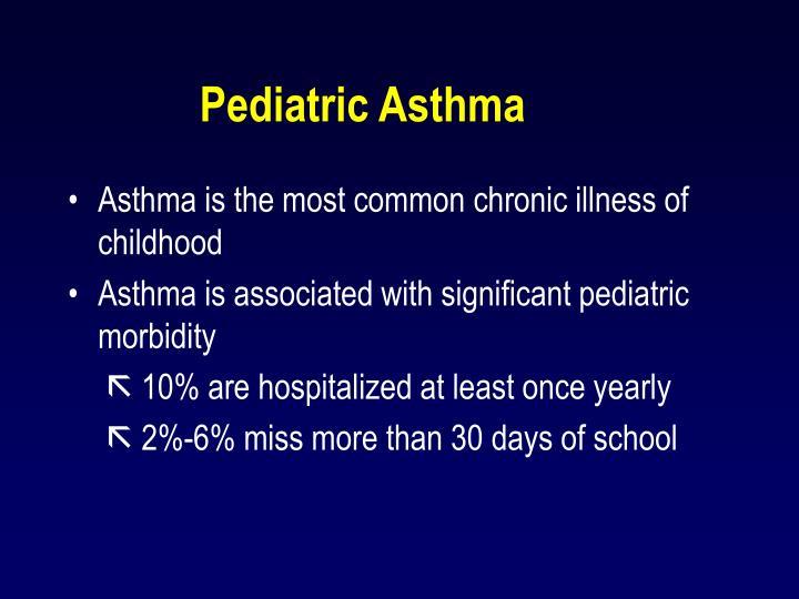Pediatric Asthma