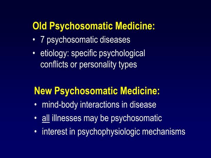 7 psychosomatic diseases