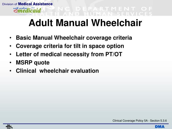 Adult Manual Wheelchair