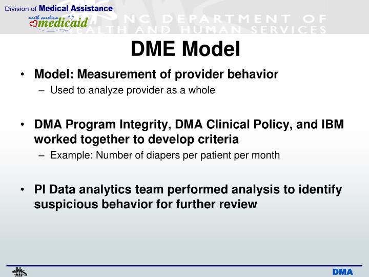 DME Model