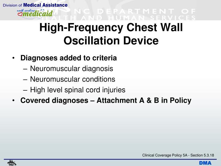 High-Frequency Chest Wall