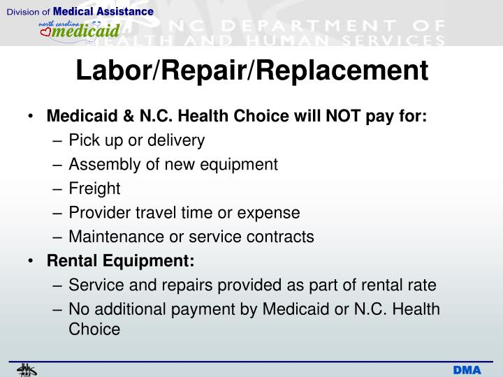 Labor/Repair/Replacement