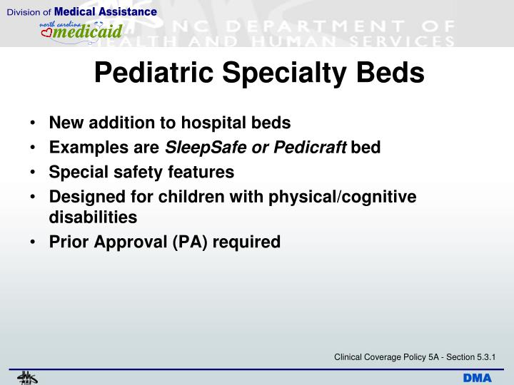 Pediatric Specialty Beds