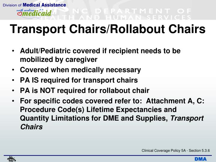 Transport Chairs/Rollabout Chairs