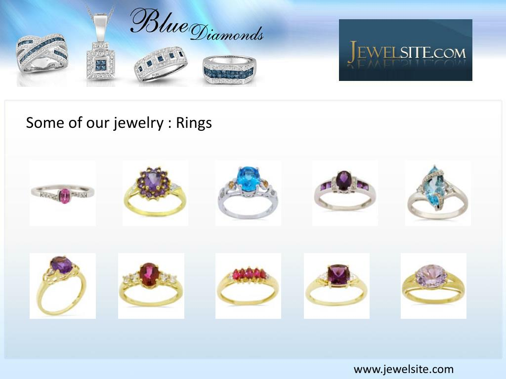 Some of our jewelry : Rings