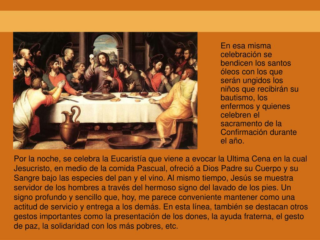 En esa misma celebración se bendicen los santos óleos con los que serán ungidos los niños que recibirán su bautismo, los enfermos y quienes celebren el sacramento de la Confirmación durante el año.