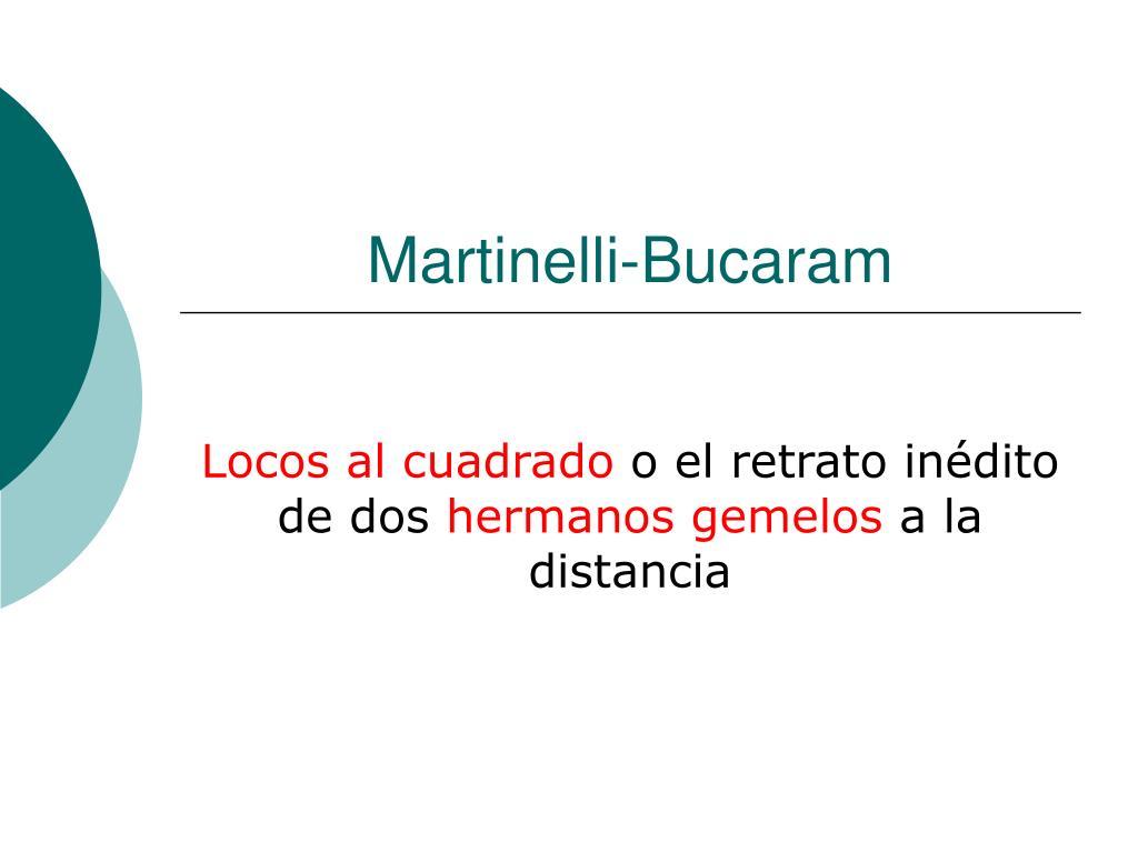 Martinelli-Bucaram