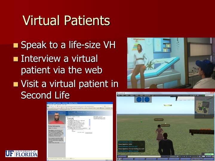 Virtual patients
