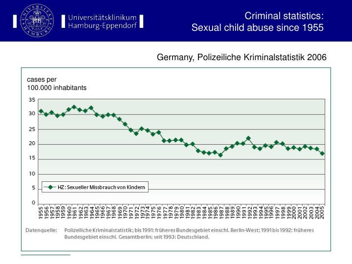 Criminal statistics: