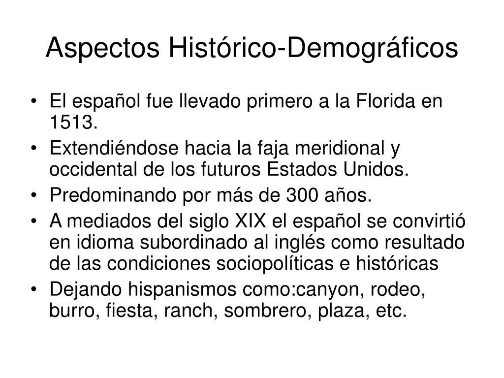 Aspectos Hist