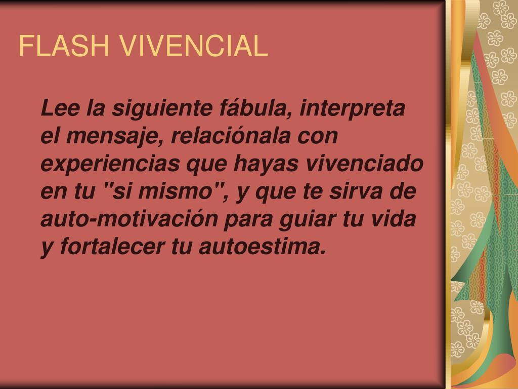 FLASH VIVENCIAL