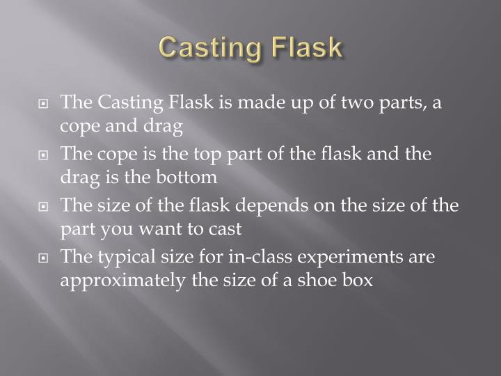 Casting Flask
