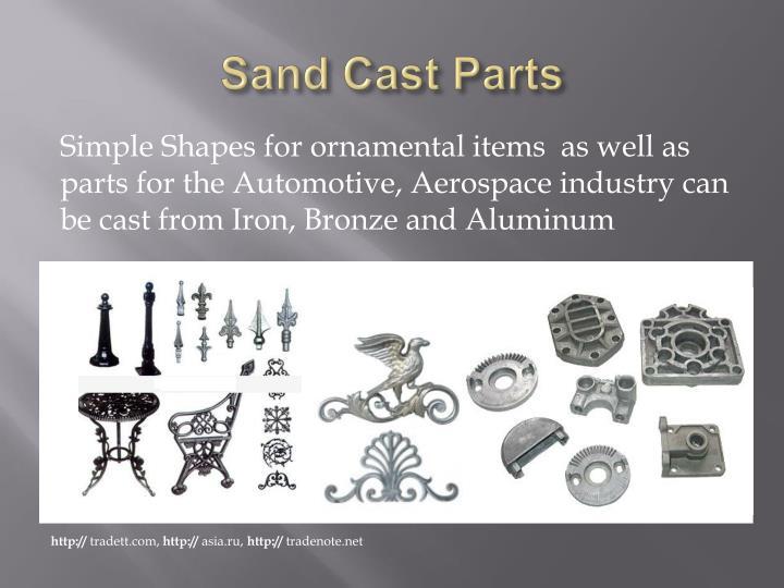 Sand Cast Parts