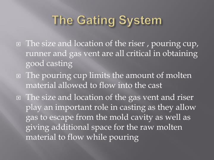 The Gating System
