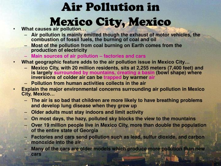 the issues of pollution in america today American lung association state of the air 2014: most polluted cities in america  which us cities have the highest levels of air pollution according to the 2014.