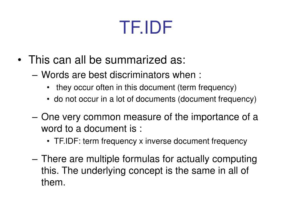 TF.IDF