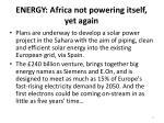 energy africa not powering itself yet again