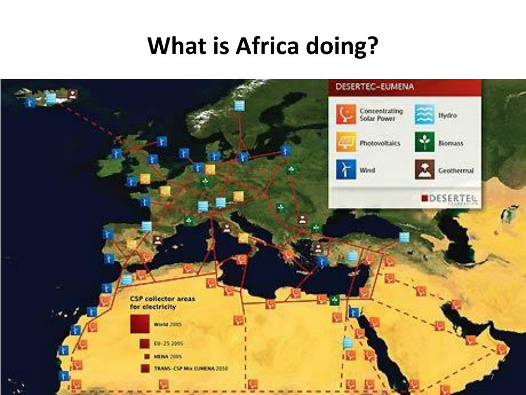 What is Africa doing?