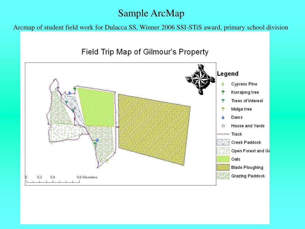 Sample ArcMap