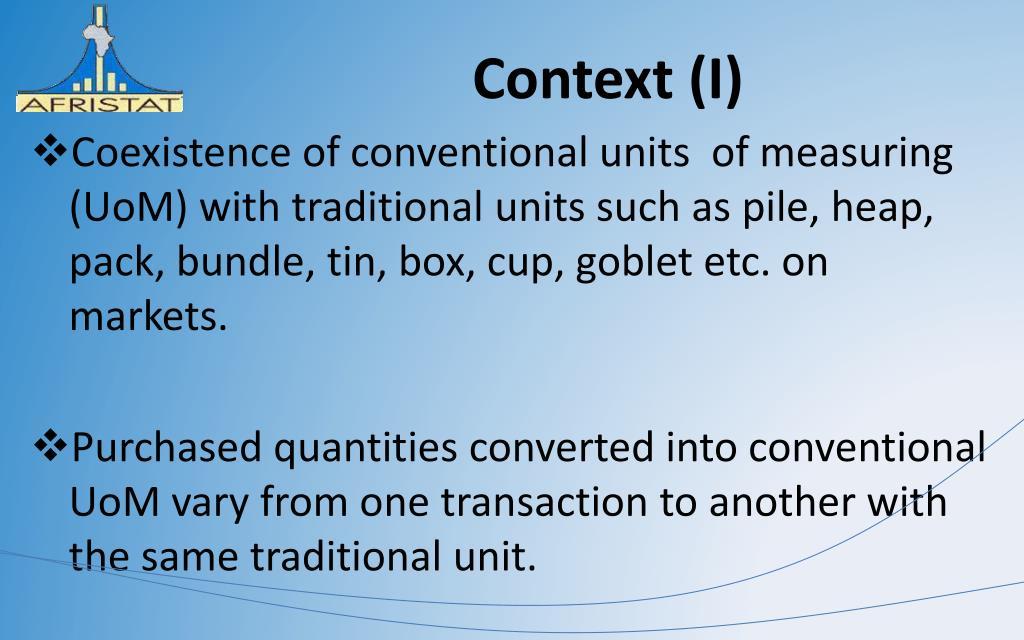 Context (I)