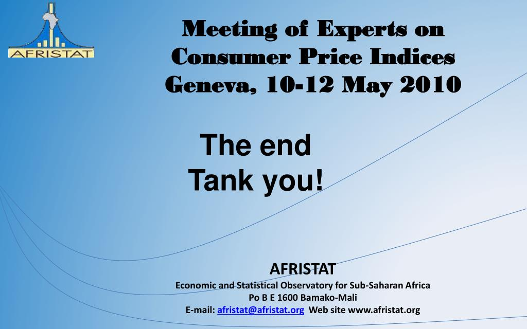Meeting of Experts on Consumer Price Indices
