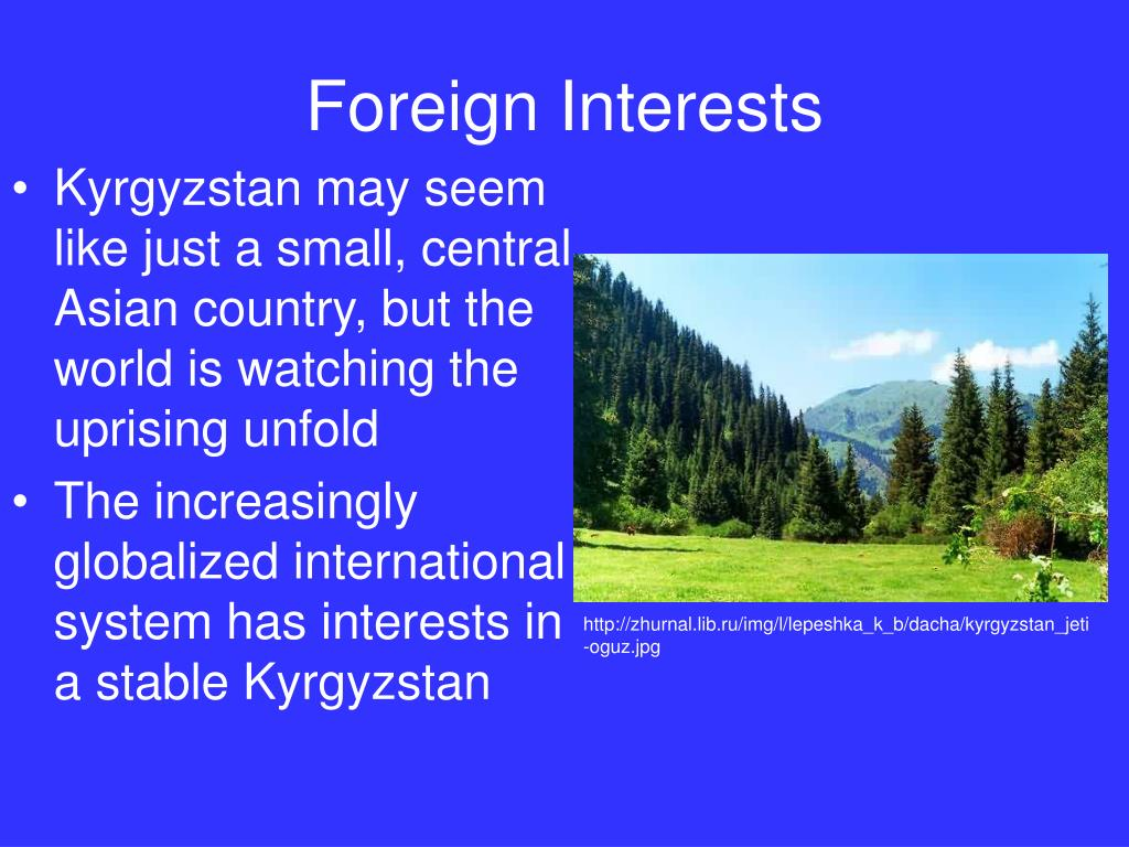 Foreign Interests