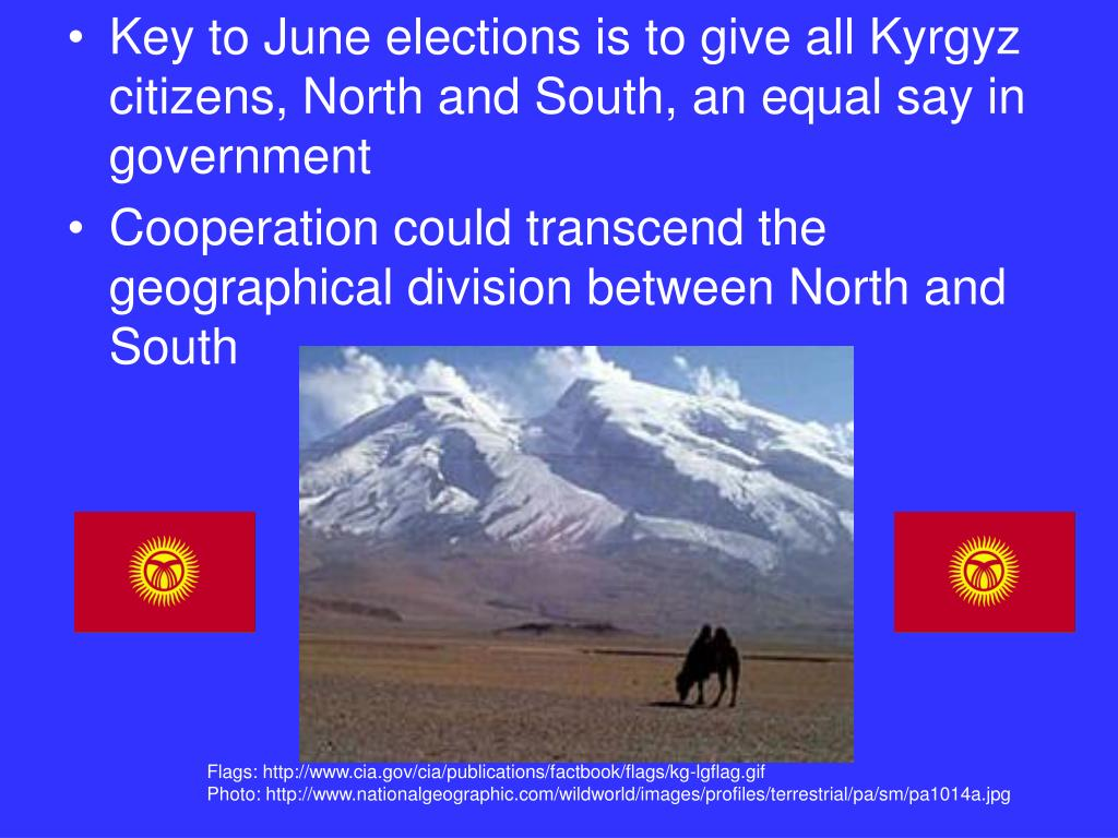 Key to June elections is to give all Kyrgyz citizens, North and South, an equal say in government