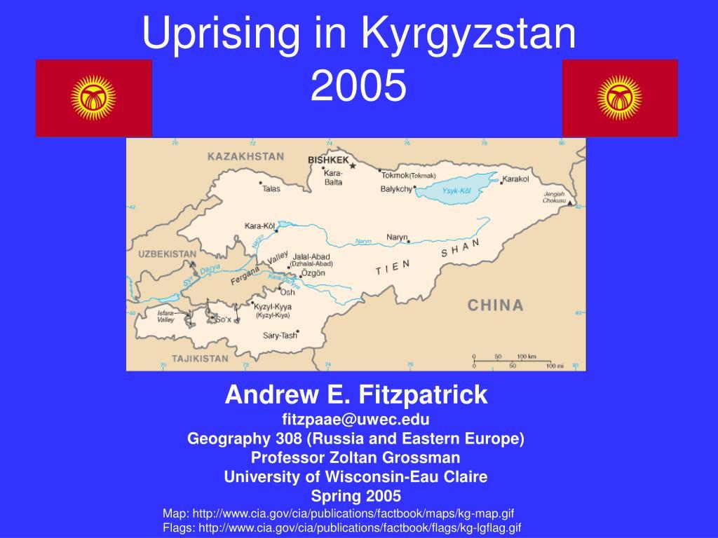 Uprising in Kyrgyzstan