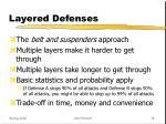 layered defenses