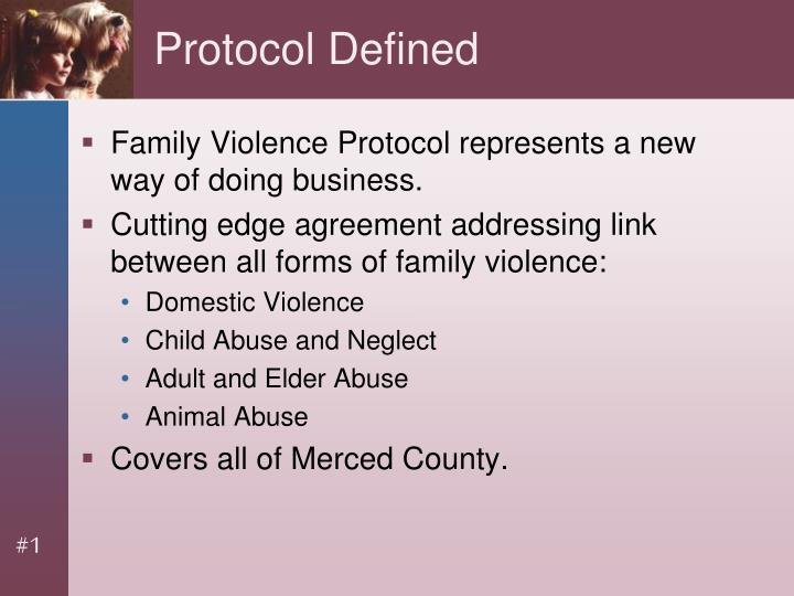Protocol Defined