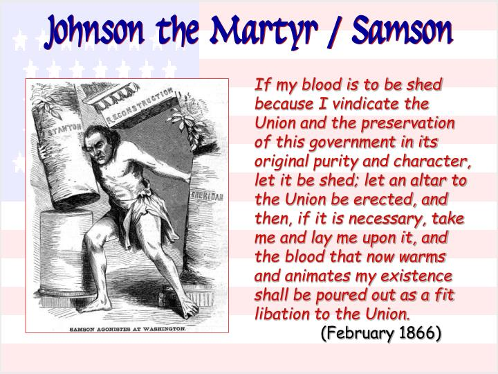 Johnson the Martyr / Samson