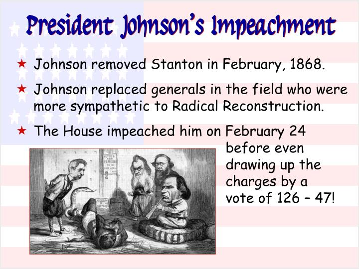 President Johnson's Impeachment