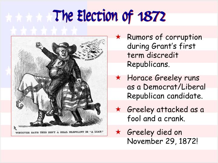 The Election of 1872