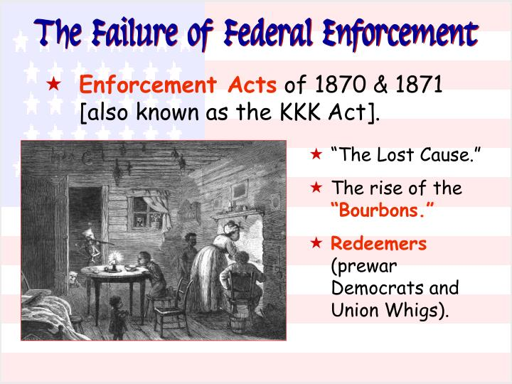 The Failure of Federal Enforcement