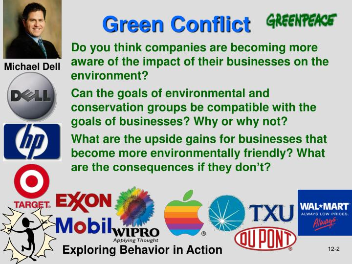 Green conflict