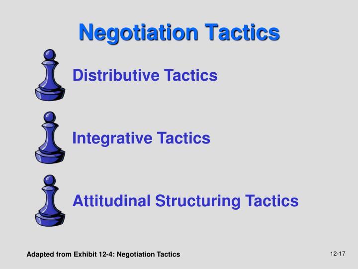 Distributive Tactics
