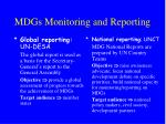 mdgs monitoring and reporting1