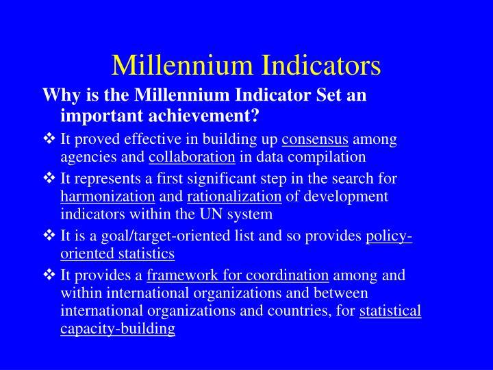 Millennium Indicators