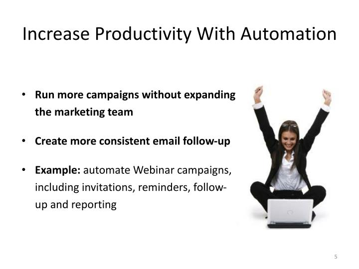 Increase Productivity With Automation