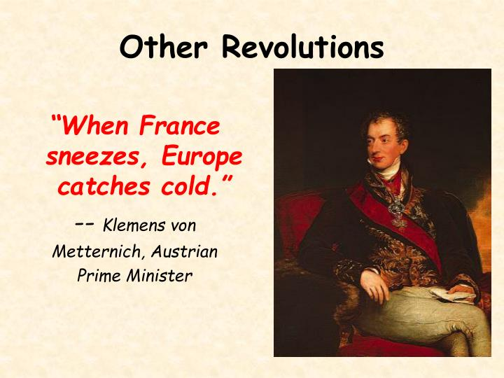 Other Revolutions