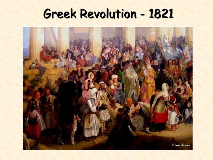 Greek Revolution - 1821