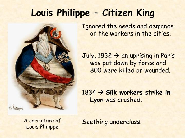 Louis Philippe – Citizen King