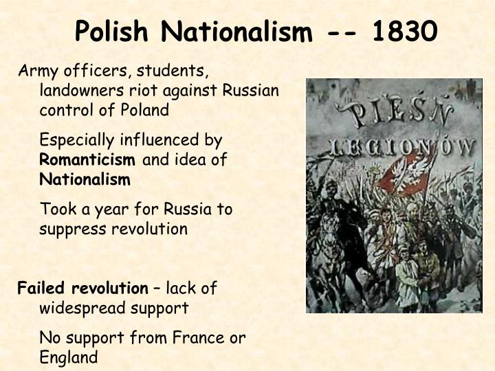 Polish Nationalism -- 1830